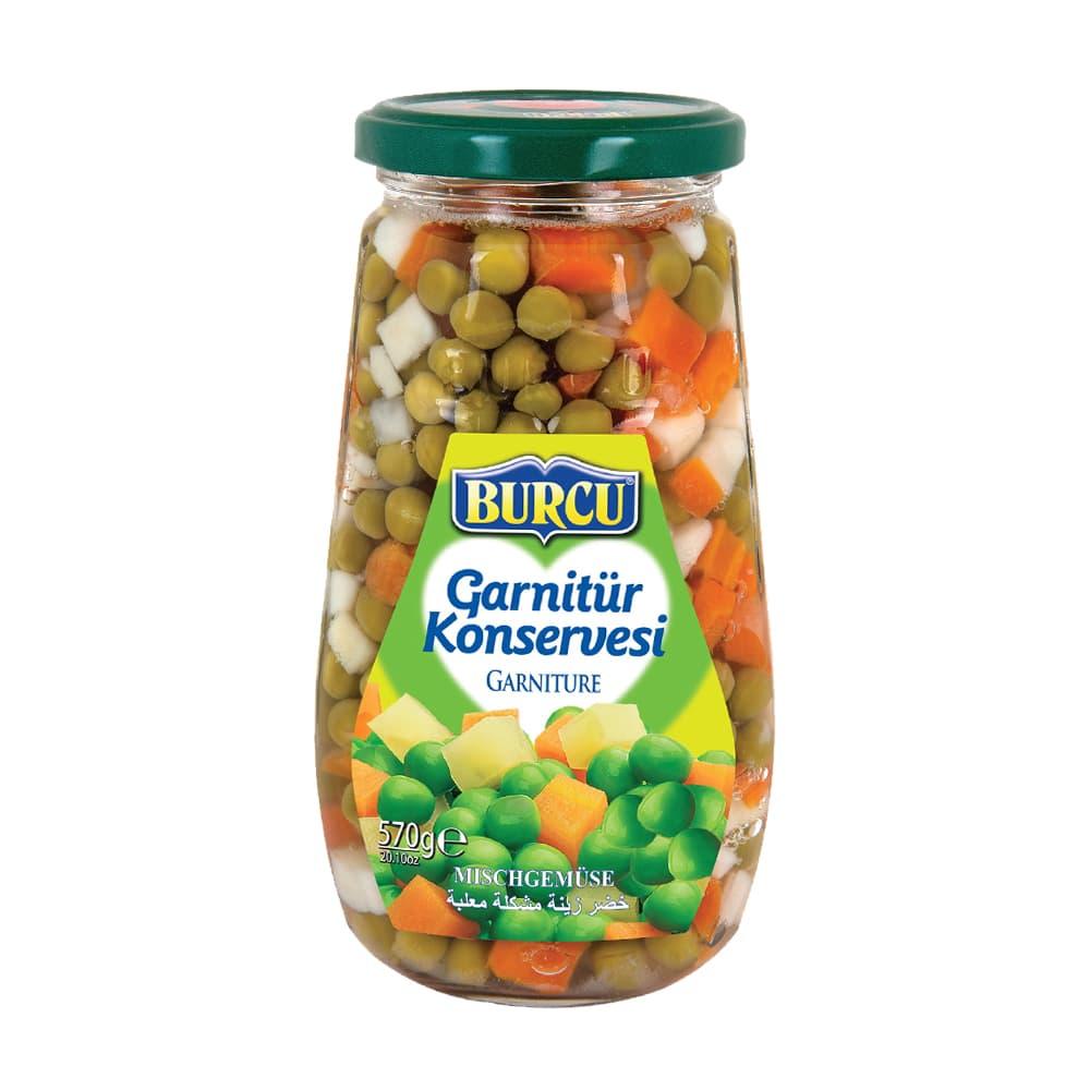 Burcu Garnitür Konservesi 570 gr ürünü