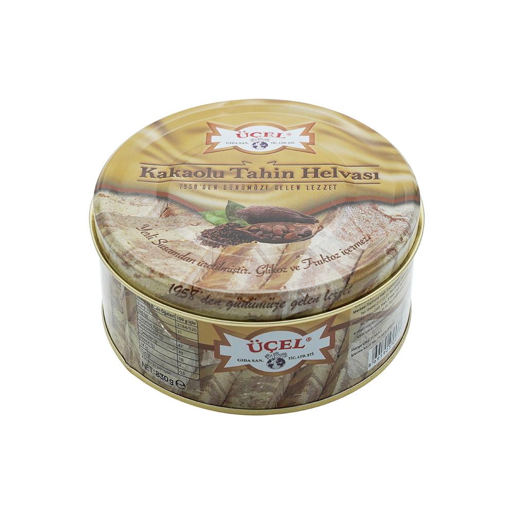Üçel Kakaolu Helva 830 gr Teneke ürünü