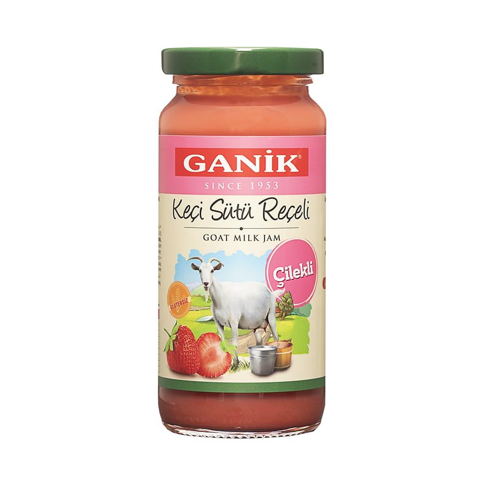 Ganik Çilekli Keçi Sütü Reçeli 270 gr ürünü