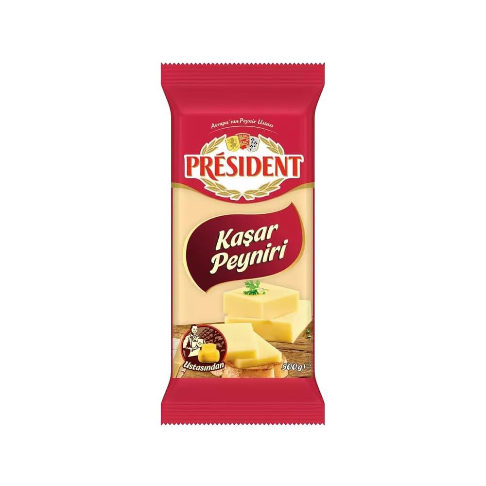 President Kaşar Peyniri 500 gr ürünü
