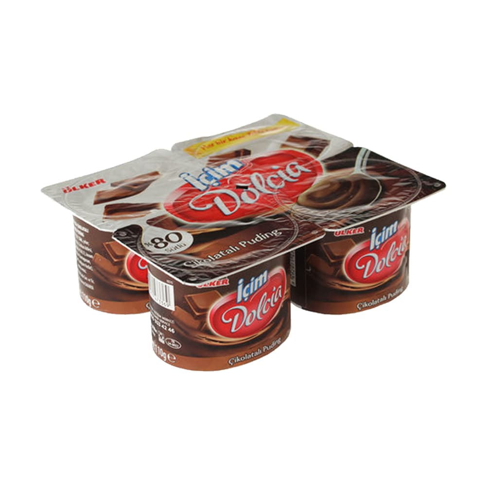 İçim Dolcia Çikolatalı Puding 4X65 gr ürünü