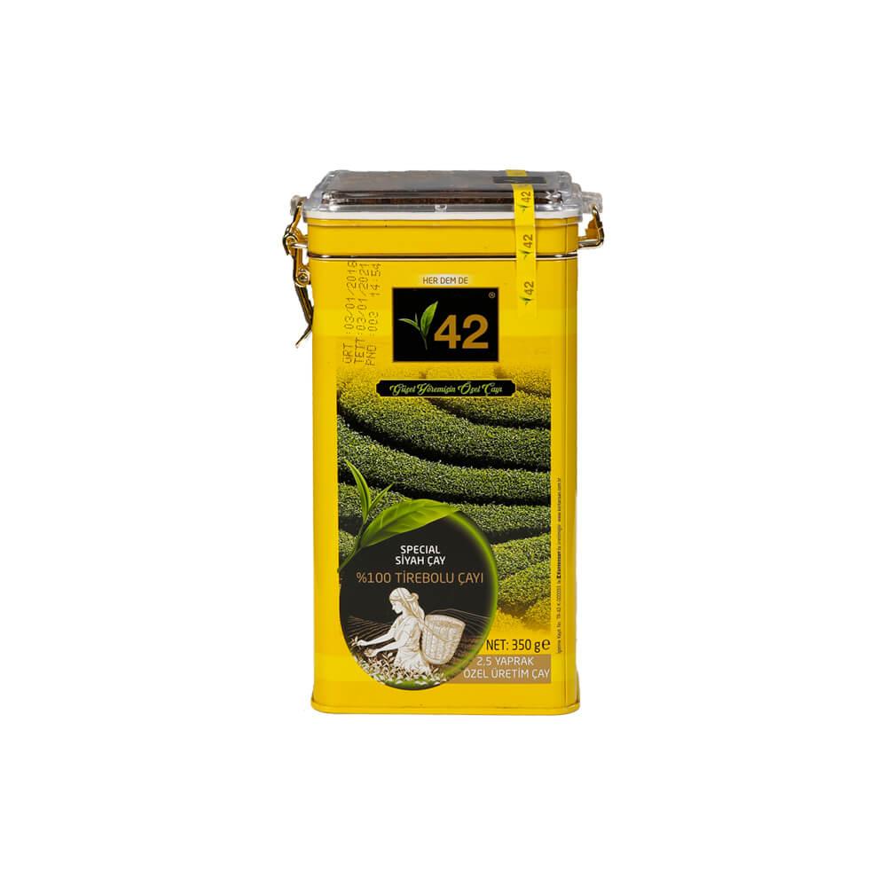 42 Tirebolu Siyah Çay 350 gr ürünü