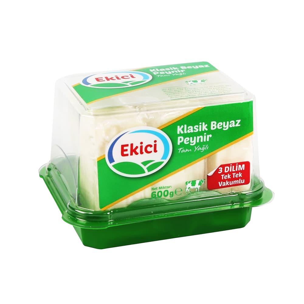 Ekici Tam Yağlı Beyaz Peynir 600 gr  ürünü