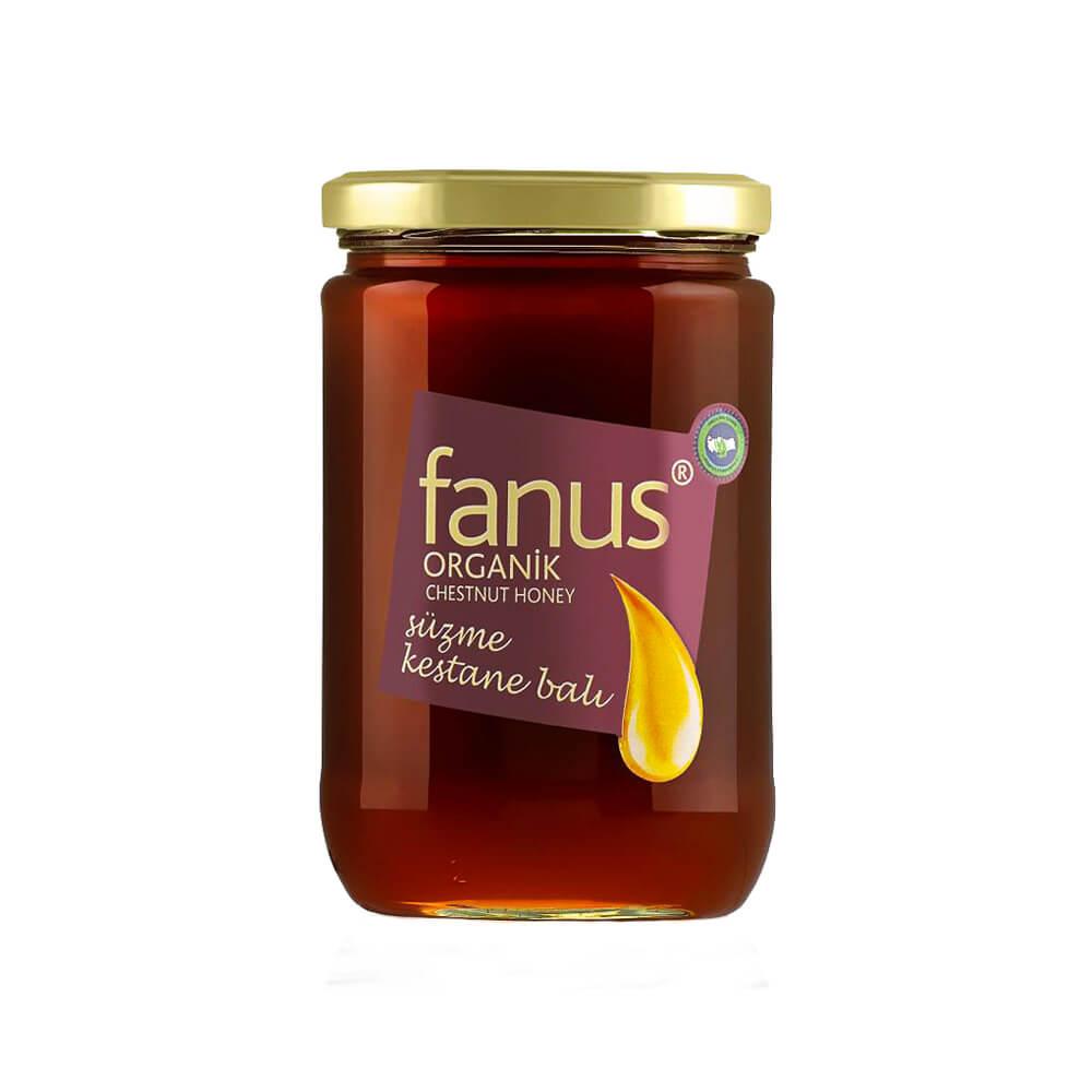 Fanus Organik Kestane Balı 850 gr ürünü