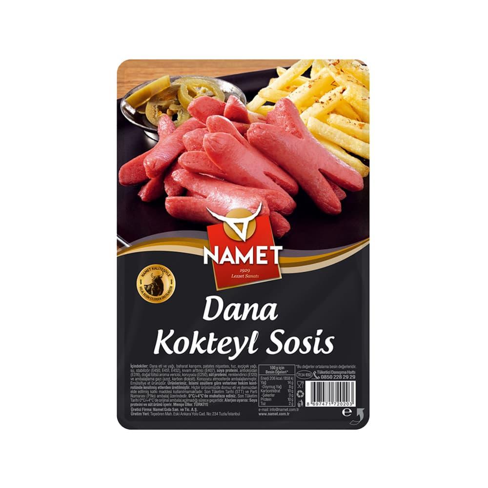 Namet Dana Kokteyl Sosis Dana 250 gr ürünü