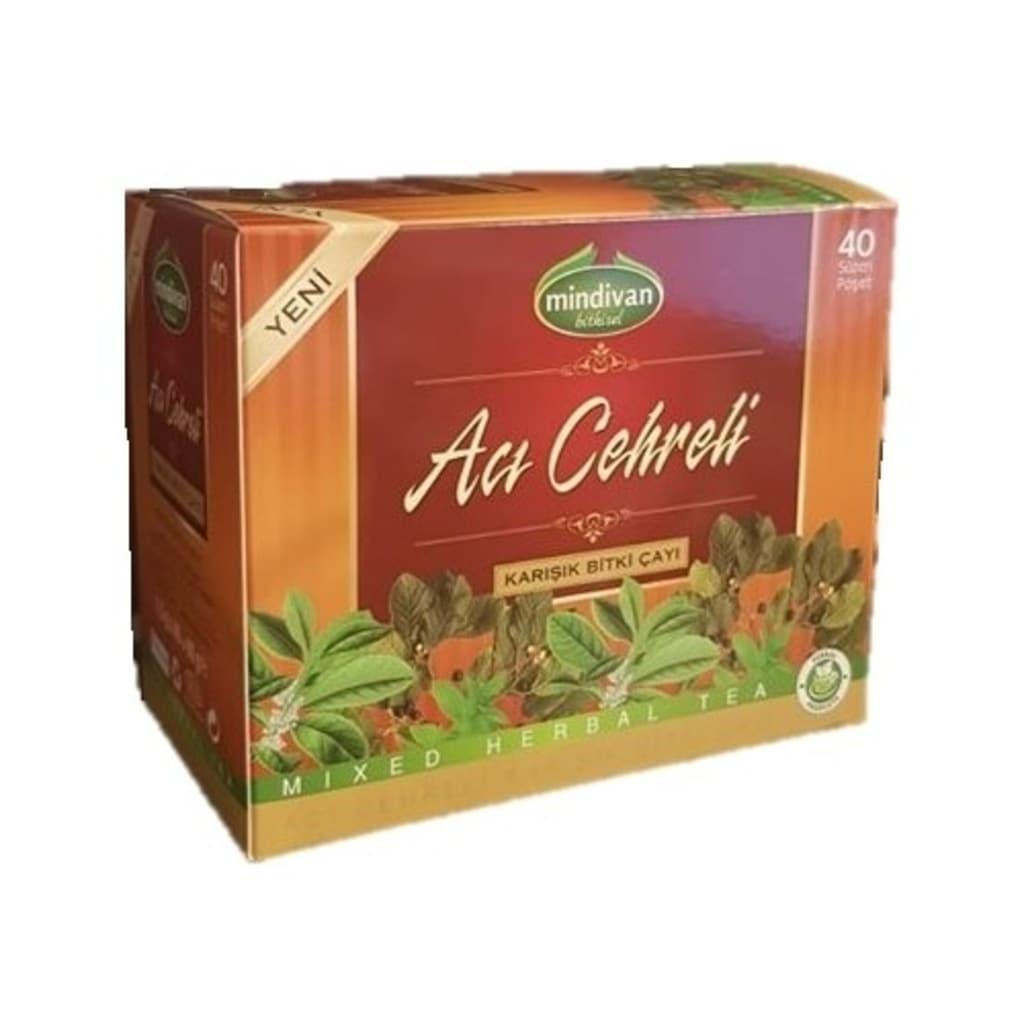 Mindivan Acı Çehre Çayı 30'lu ürünü