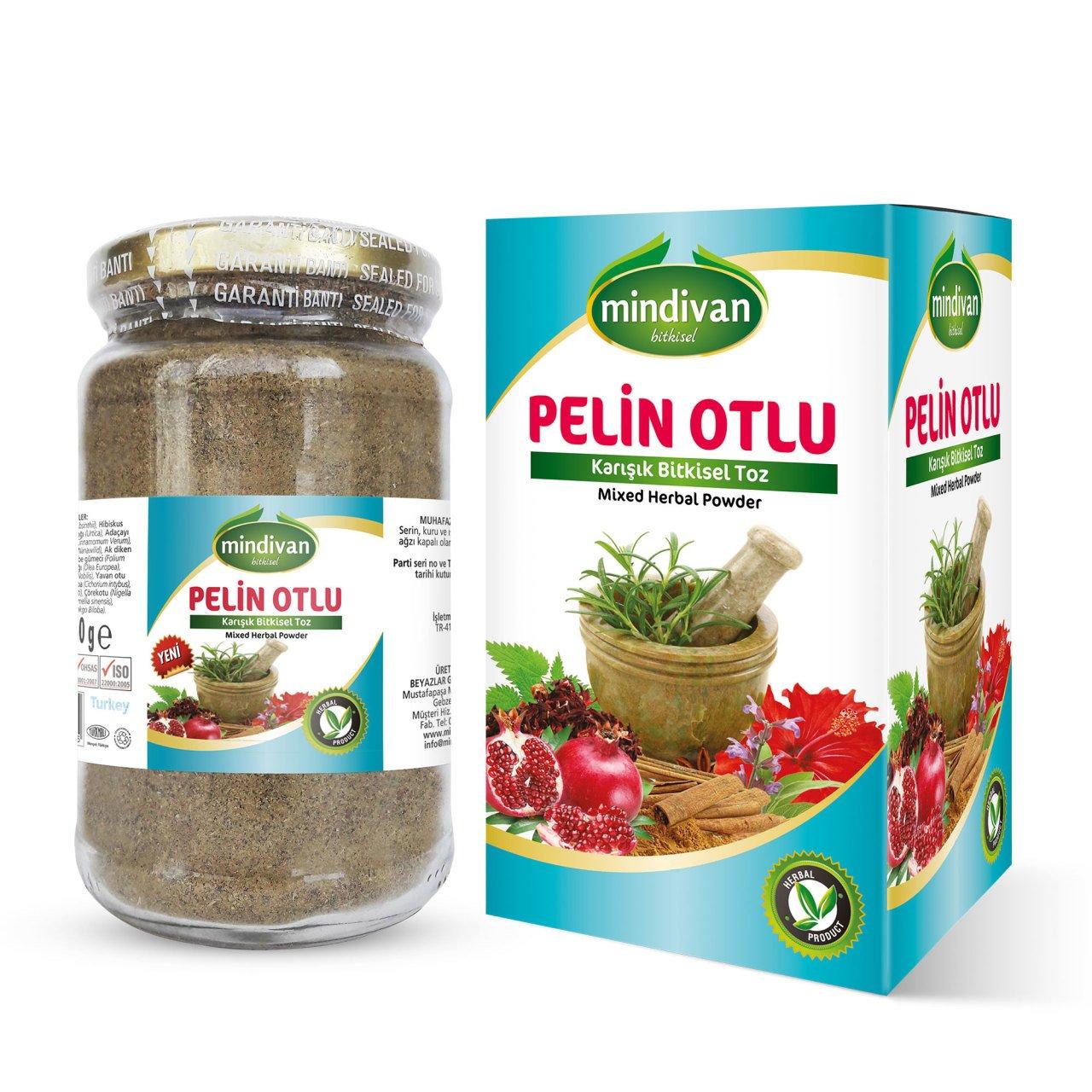 Mindivan Pelin Otlu Karışımlı Toz 150 gr ürünü