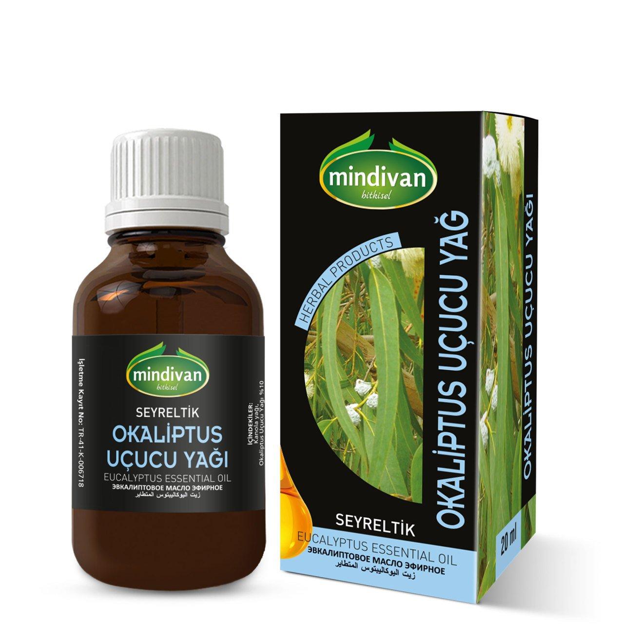Mindivan Okaliptus Yağı 20 ml ürünü