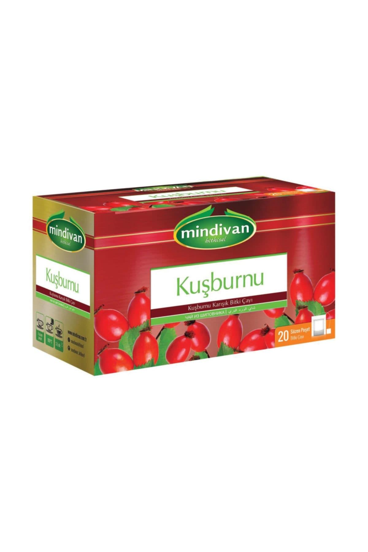 Mindivan Kuşburnu Çayı 20'li ürünü