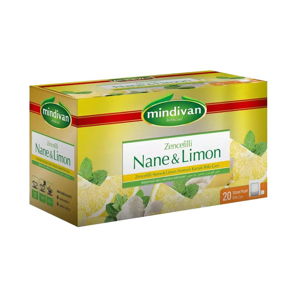 Mindivan Nane Limon Çay 20'li ürünü