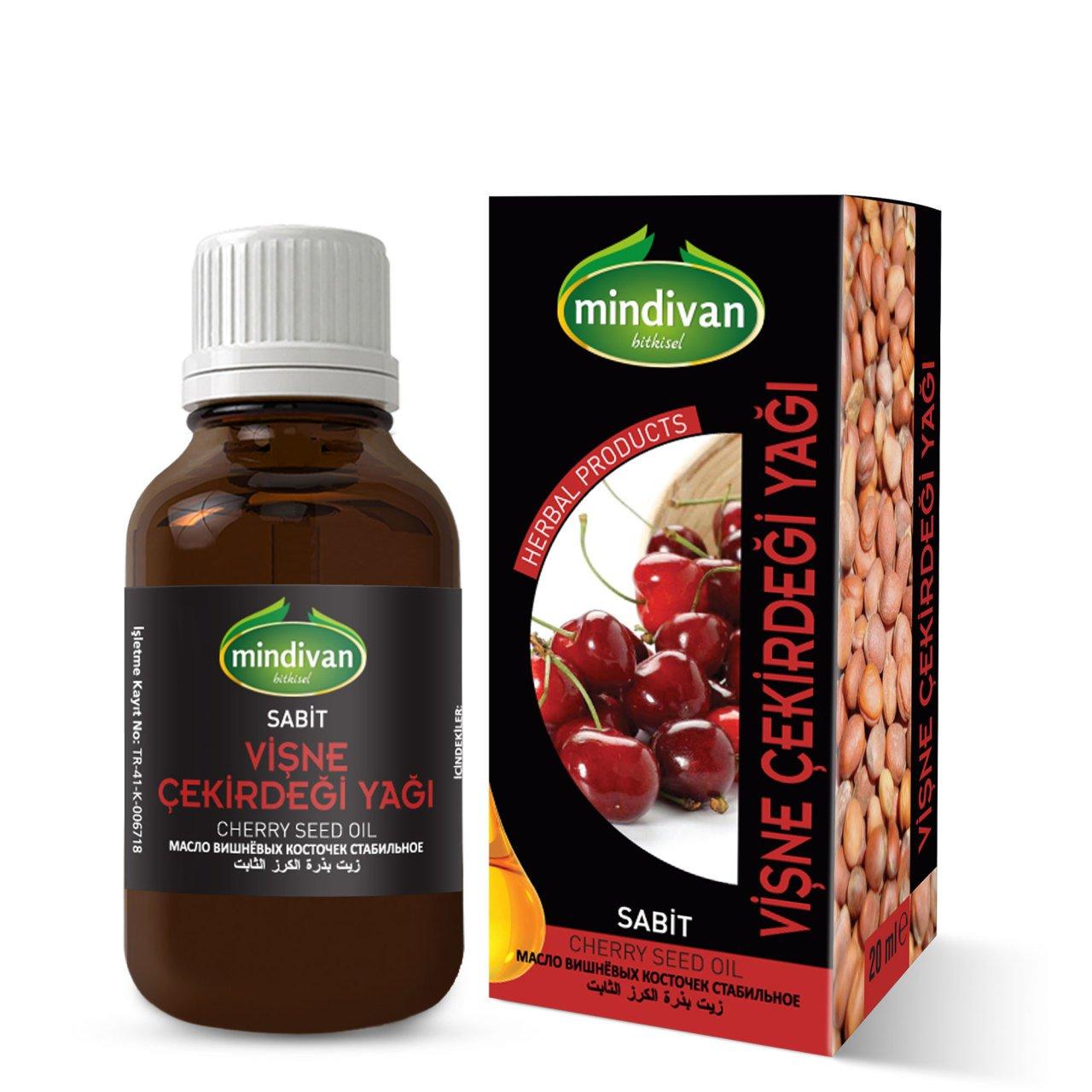 Mindivan Vişne Çekirdeği Yağı 20 ml ürünü