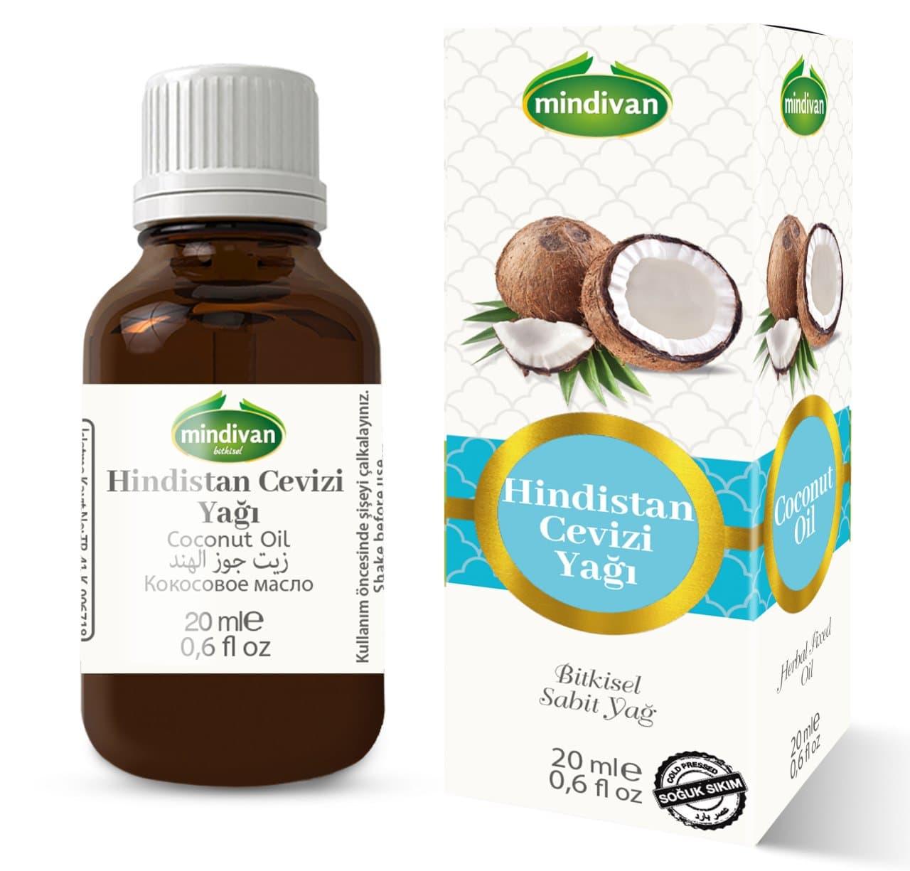 Mindivan Hindistan Cevizi Yağı 20 ml ürünü