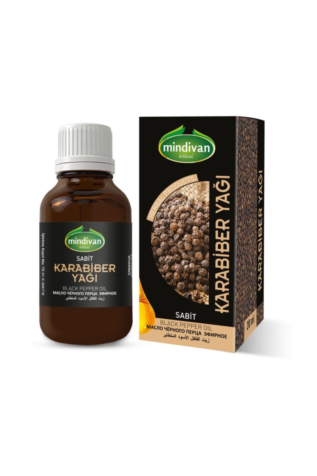 Mindivan Karabiber Yağı 20 ml ürünü