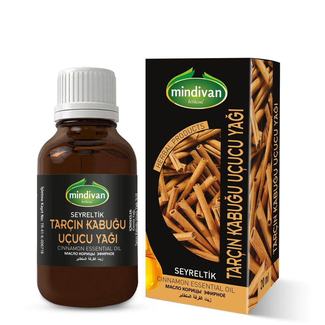 Mindivan Tarçın Kabuğu Yağı 20 ml ürünü