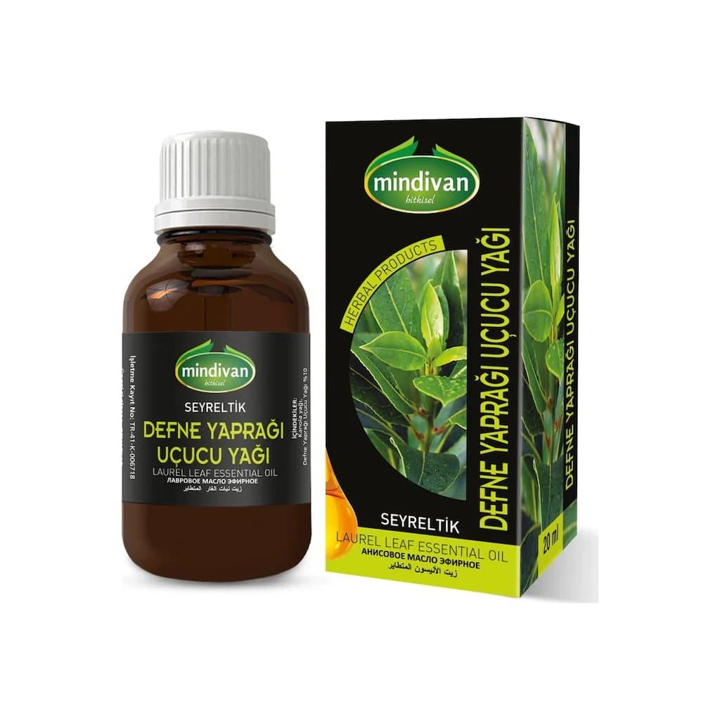 Mindivan Defne Yaprağı Uçucu Yağı 20 ml ürünü