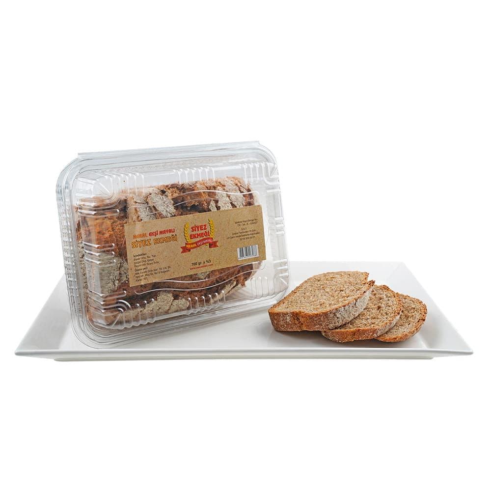 Meral Ekşi Mayalı Dilimli Siyez Ekmeği 700 gr ürünü