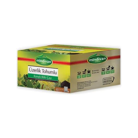 Mindivan Üzerlik Tohumlu Karışık Bitki Çayı 40'lı ürünü