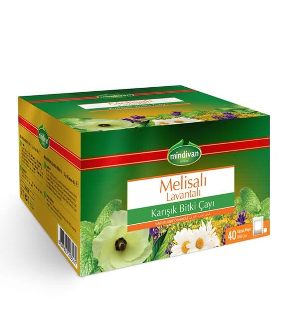 Mindivan Melisalı Lavantalı Karışık Bitki Çayı 40'lı ürünü