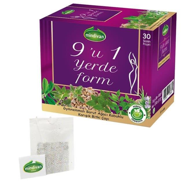 Mindivan Dokuzu Bir Yerde Form Çayı 30'lu ürünü