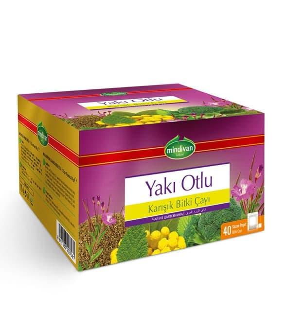 Mindivan Yakı Otlu Karışık Bitki Çayı 40'lı ürünü