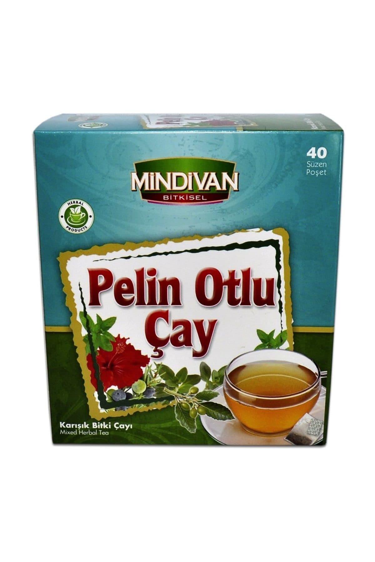 Mindivan Pelin Otlu Karışık Bitki Çayı 40'lı ürünü