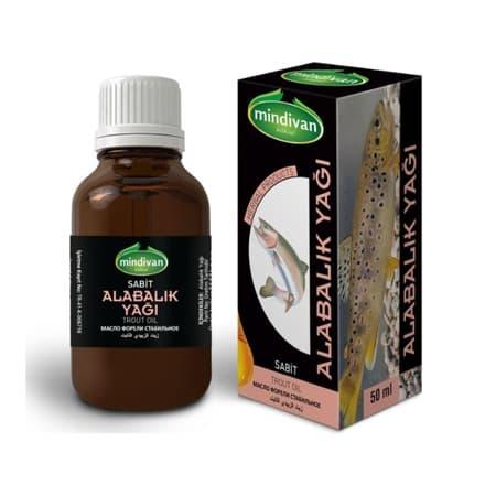Mindivan Alabalık Yağı 50 ml ürünü