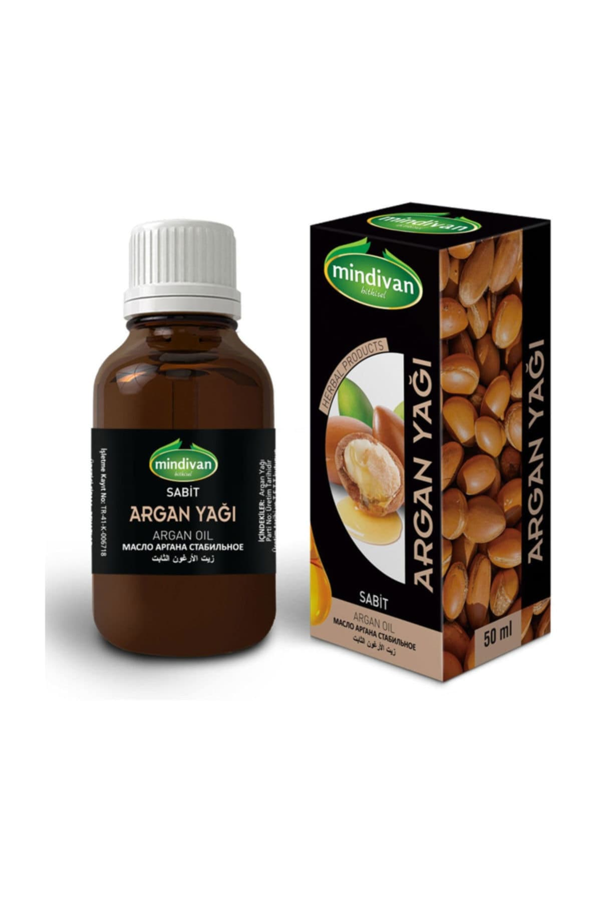 Mindivan Argan Yağı 50 ml ürünü