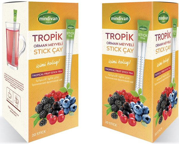 Mindivan Tropik Stick Çay 20'li ürünü