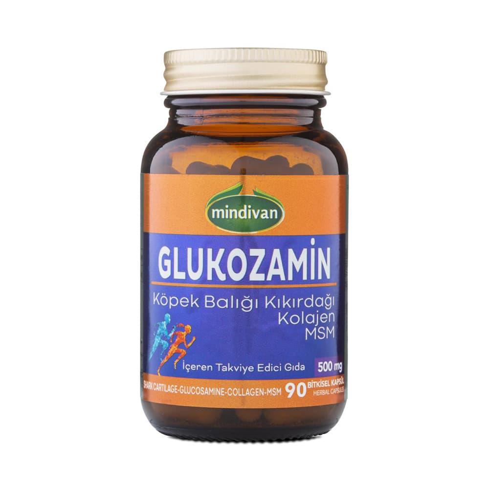Mindivan Glukozamine, Köpek Balığı Kıkırdağı, Kolajen, Msm 90 Kapsül  ürünü