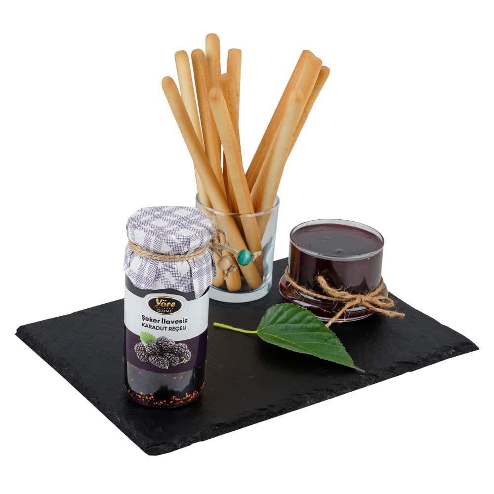 Yöre Gurme Şekersiz Karadut Reçeli 300 gr ürünü