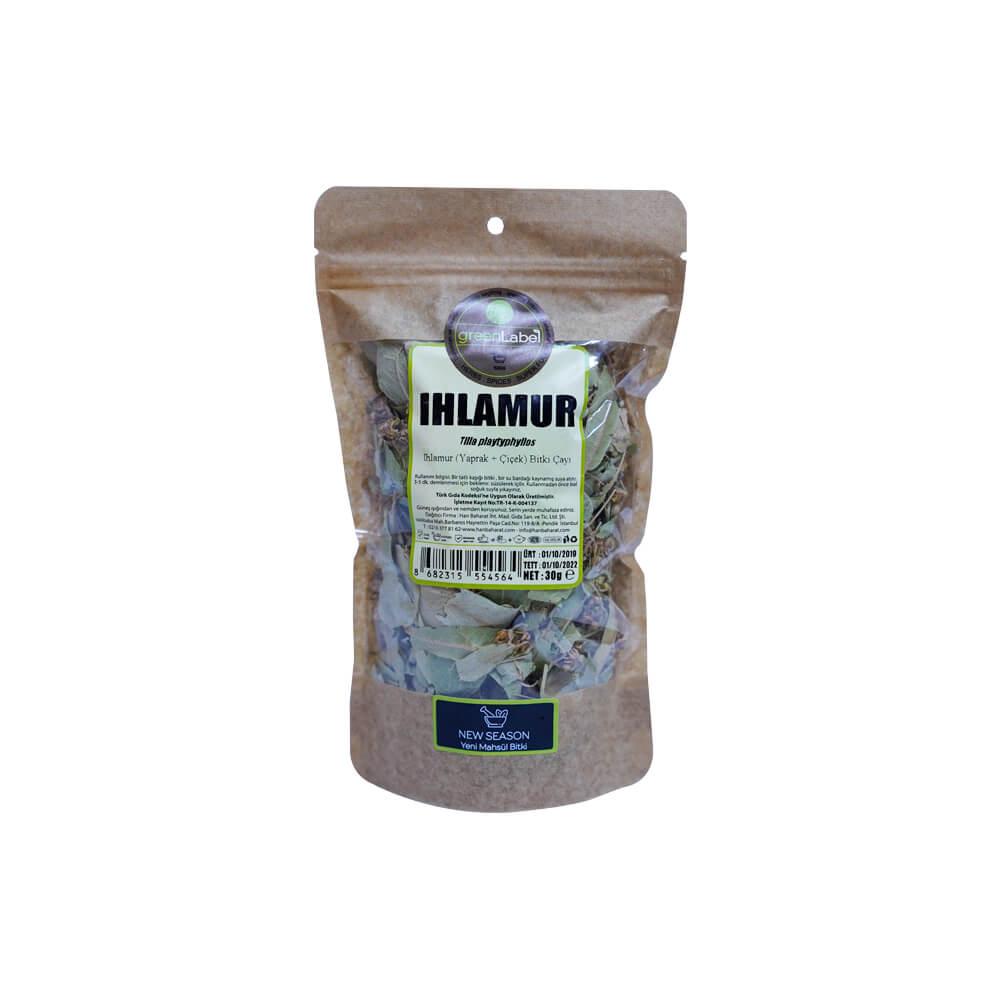 Green Label Ihlamur Yaprak 30 gr ürünü