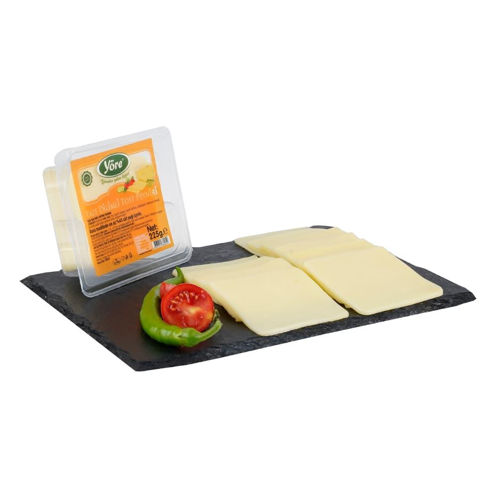 Yöre Dilimli Tost Peyniri 225 gr ürünü