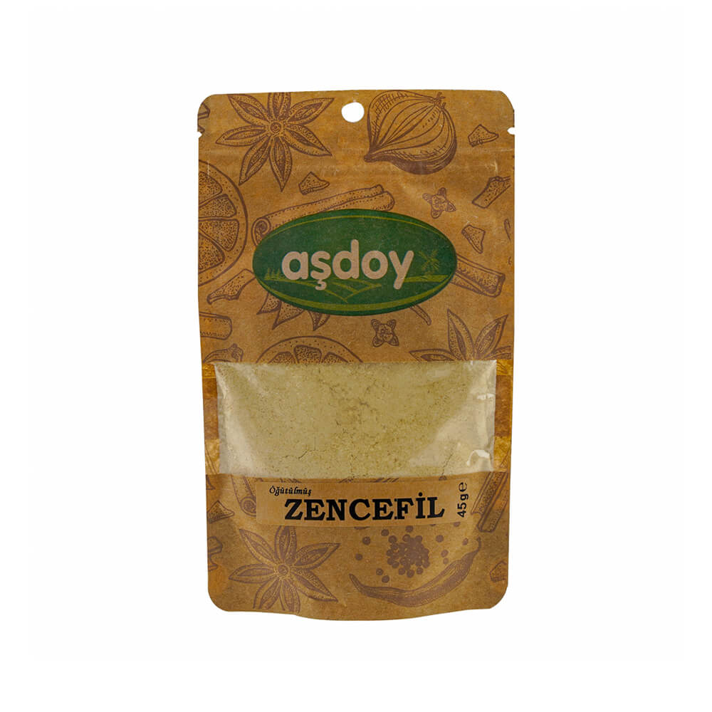 Aşdoy Toz Zencefil  45 gr ürünü