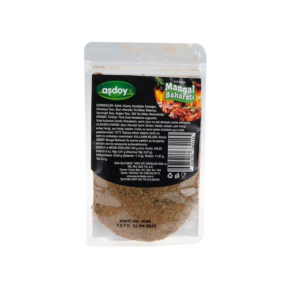 Aşdoy Mangal Baharatı 40 gr ürünü