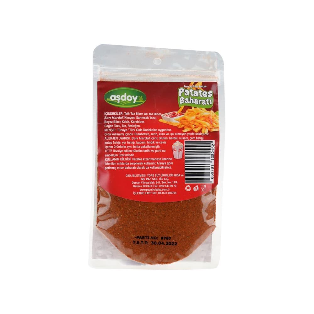 Aşdoy Patates Baharatı 48 gr ürünü