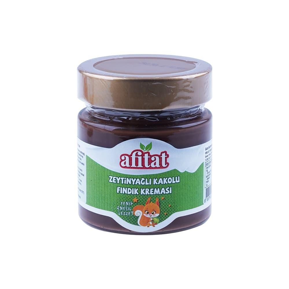 Afitat Zeytinyağlı Kakaolu Fındık Kreması 225 gr ürünü