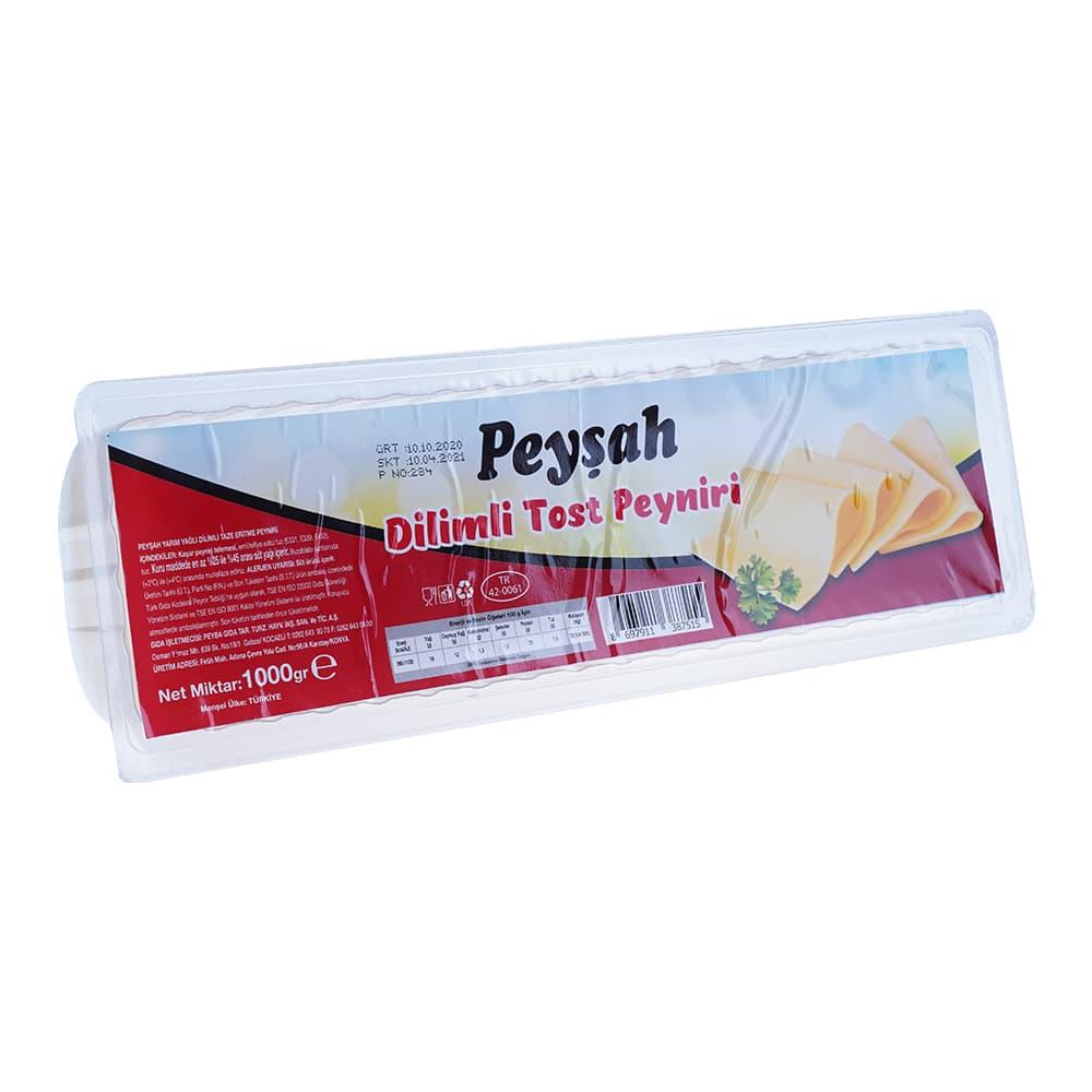 Peysah Dilimli Tost Peynirı 1000 gr ürünü