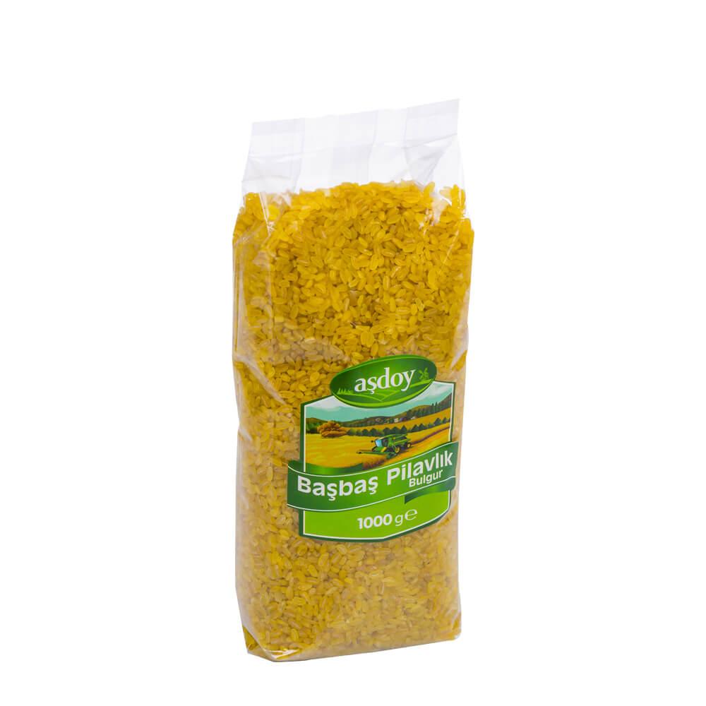 Aşdoy Başbaşı Pilavlık Bulgur 1 kg ürünü