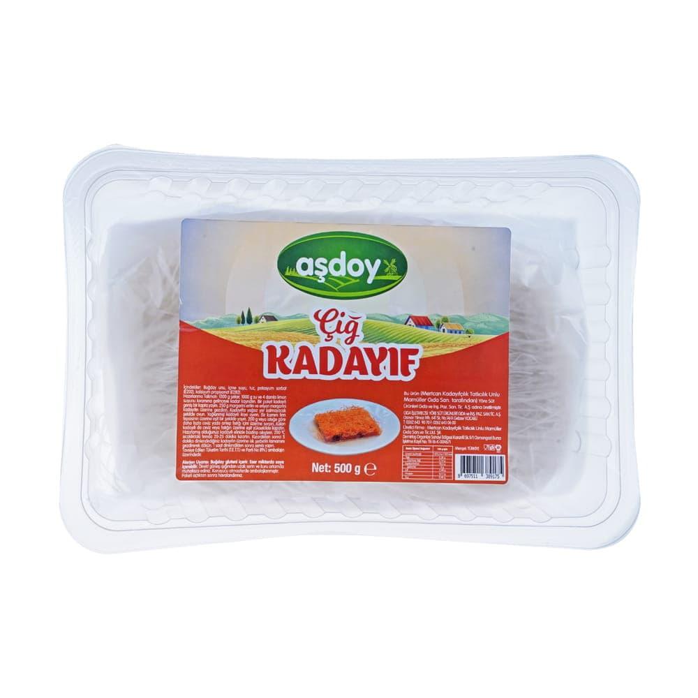 Aşdoy Çiğ Kadayıf 500  gr ürünü