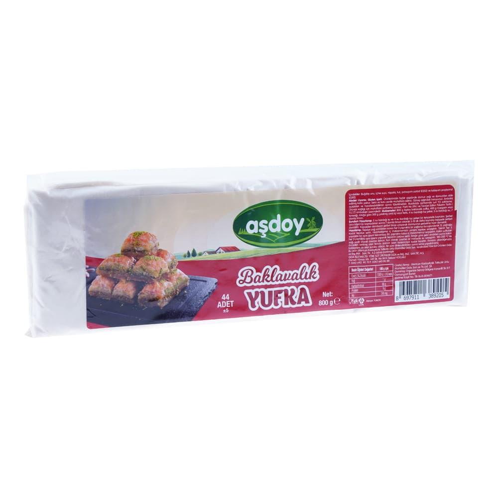 Aşdoy Baklavalık Yufka 800 gr ürünü
