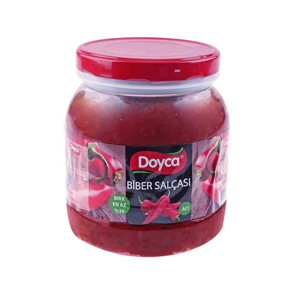 Doyca Acı Biber Salçası 1600 gr ürünü