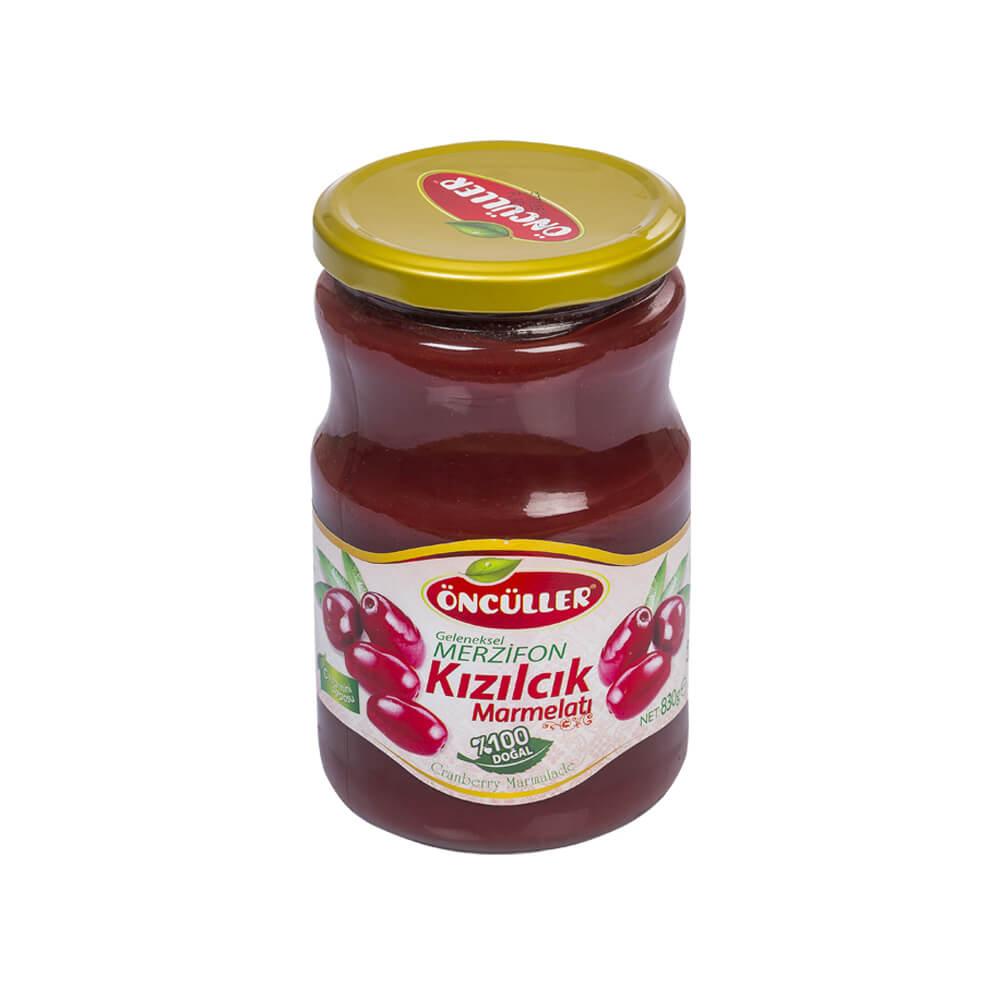 Öncüller Kızılcık Marmelatı 830 gr ürünü
