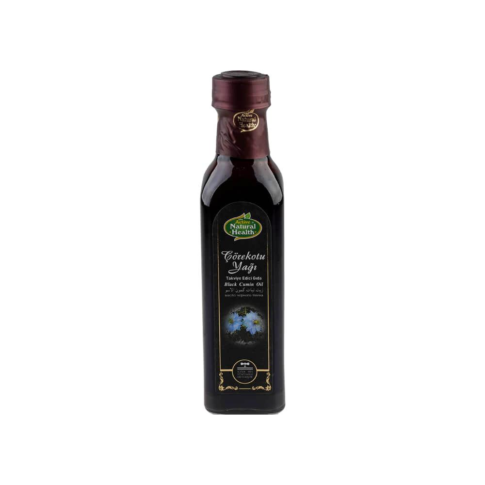 Active Natural Çörekotu Yağı 250 gr ürünü