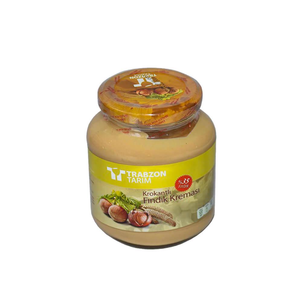 Trabzon Tarım Krokantlı Fındık Kreması 320 gr ürünü