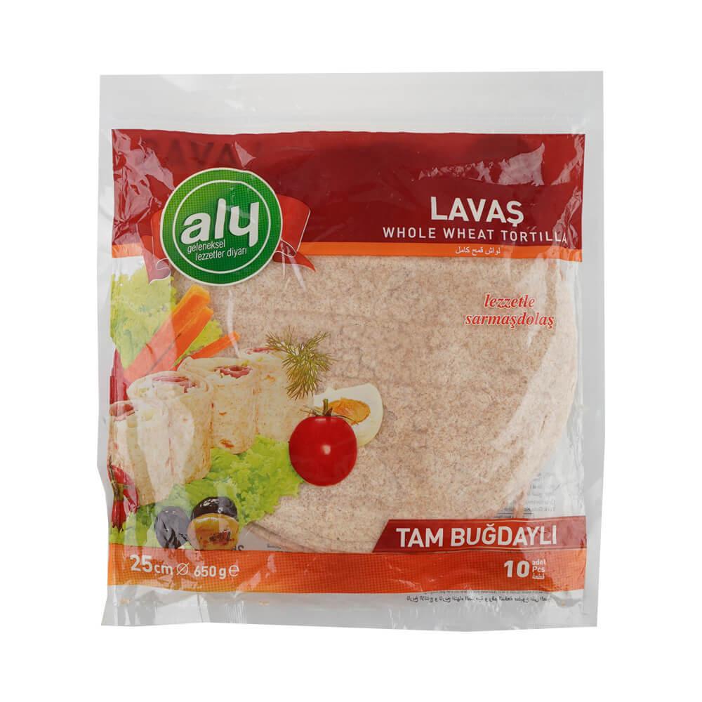 Aly Tam Buğdaylı Lavaş 650 gr (25 cm 10 adet) ürünü