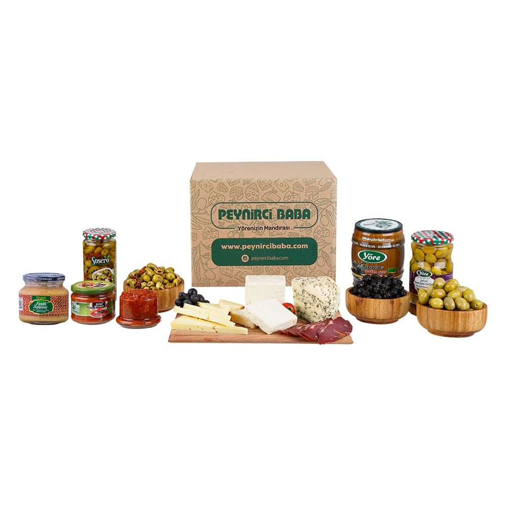 Peynirci Baba Gurme Paketi ürünü